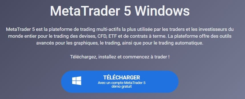 metatrader5 Windows