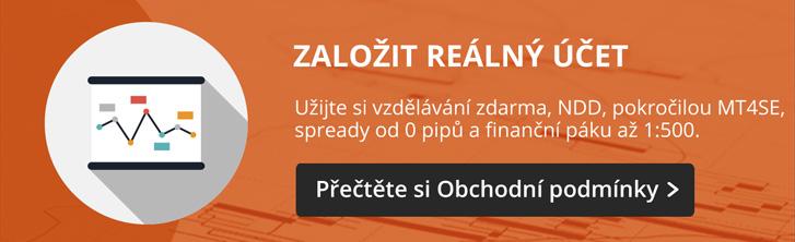 Obchodovani na Forexu - Reálný účet