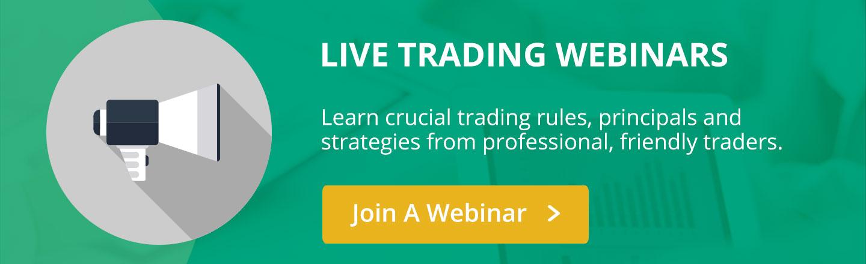 Live trading webinars