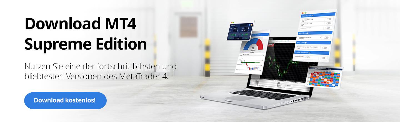 MT4 Supreme Edition - Die Erweiterung für Ihren MT4 von Admiral Markets.