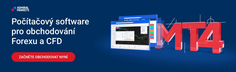 MetaTrader 4 forex a CFD obchodní platforma