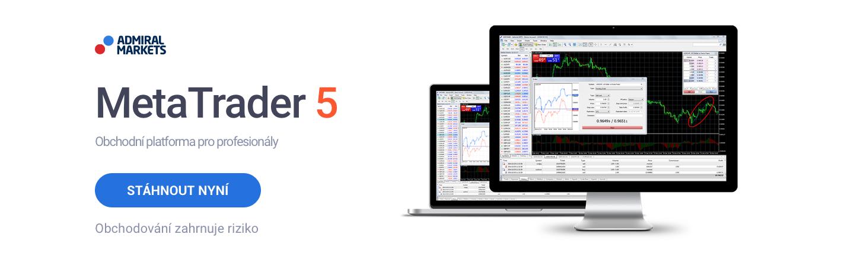 Obchodování akcií platforma MetaTrader 5