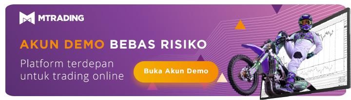 Anda dapat mulai dengan membuat akun trading demo gratis