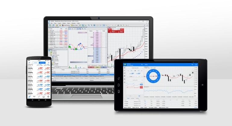 MetaTrader 5 - plateforme de trading professionnelle