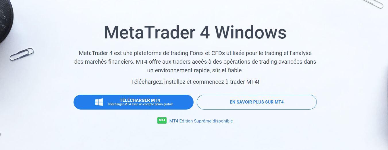 Télécharger Admiral Markets MetaTrader 4 Forex