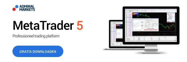 Open een nieuwe Metatrader 5 account voor handelen in grondstoffen