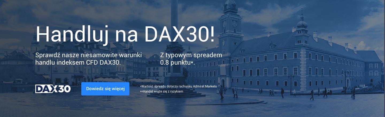 Handluj na DAX 30