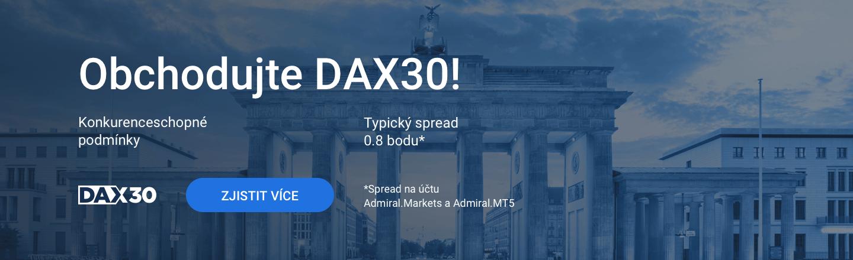 DAX30 CFD účet