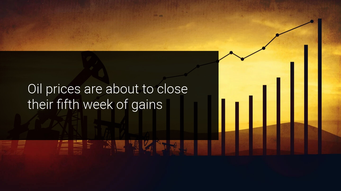 Oil's fifth week of profit: Will it stay up?
