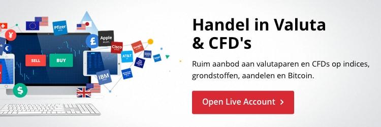 Forex live rekening en CFD live rekening