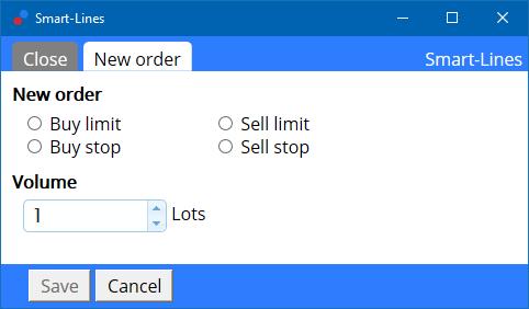 Order opening en order management met Smart Order Lines