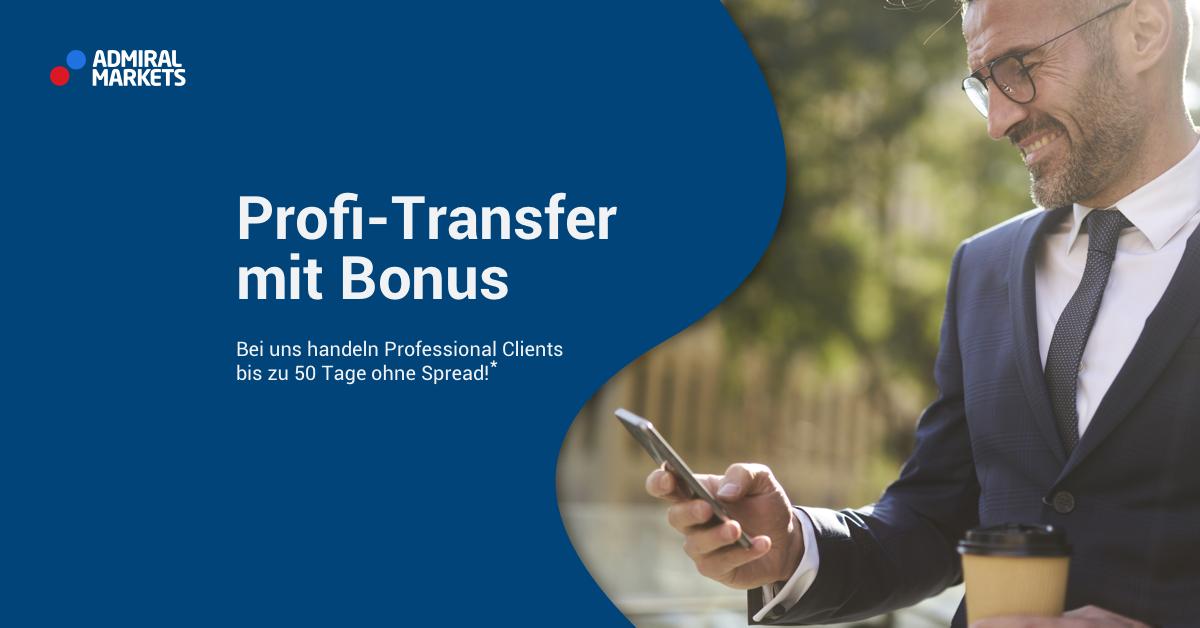 CFD Handel und Professional Clients: Bonus Angebot