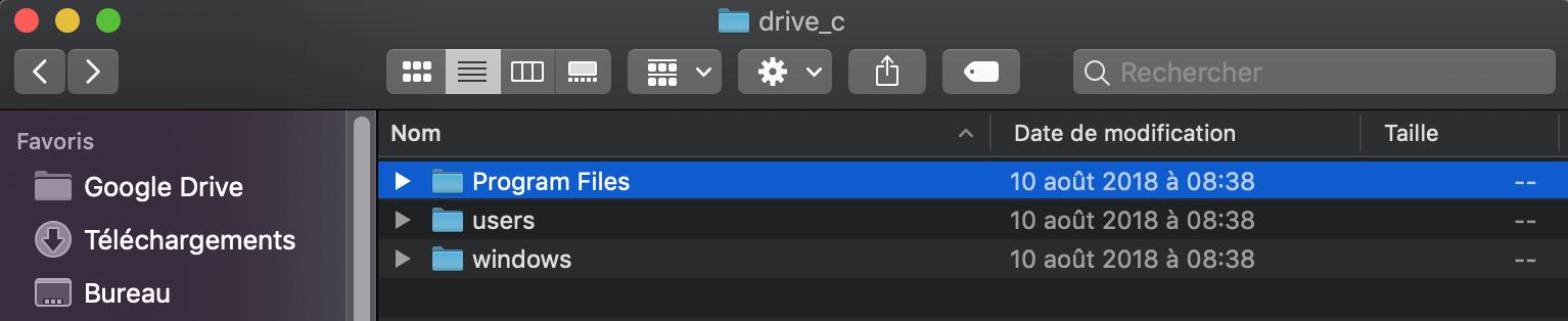 Trouver drive_c dans les sous dossier MT5 iMac