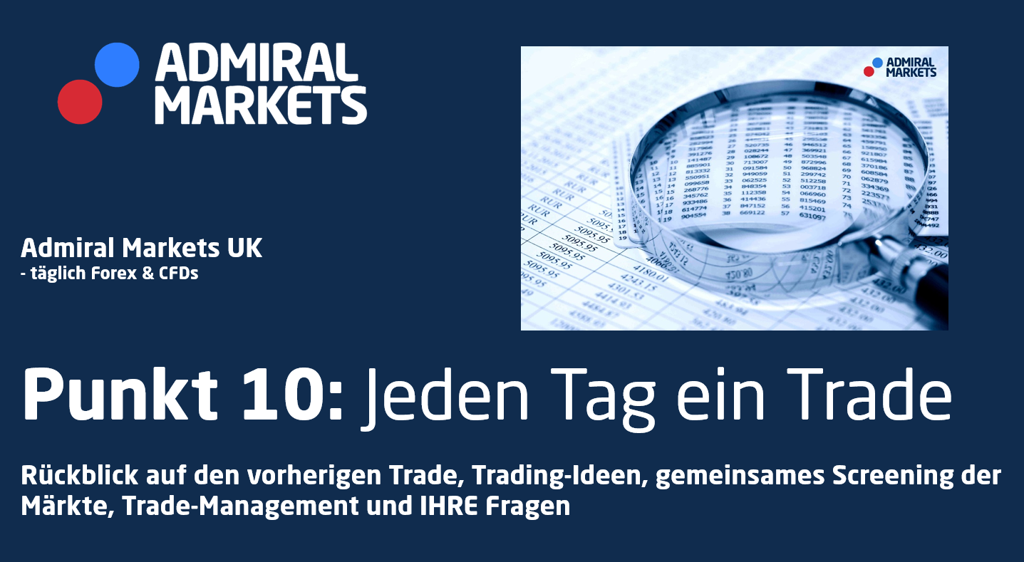 Trading-Ideen, TradeManagement, Risikomanagement - Forex & CFDs täglich