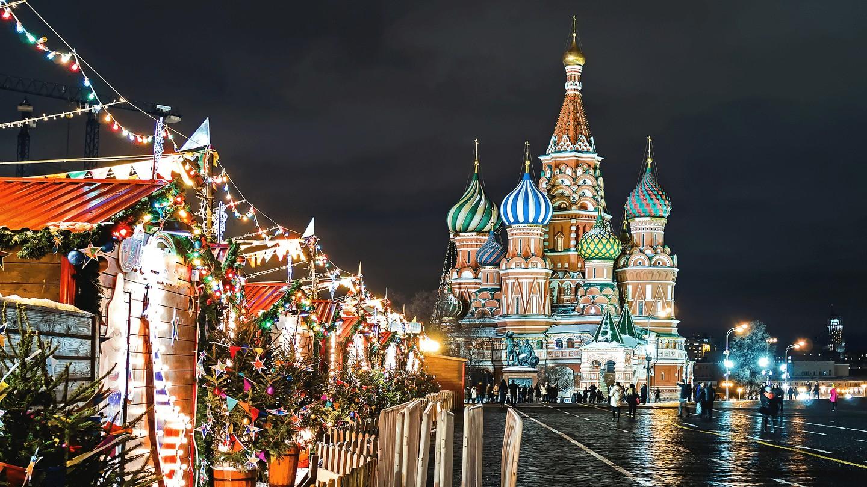 vánoce v rusku 2019