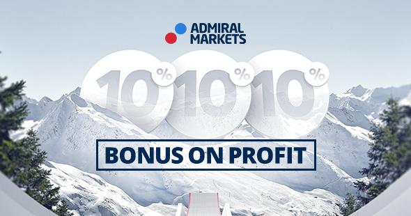 Aktion - 10% auf Ihre Forex & CFD Tradinggewinne - Admiral Markets UK