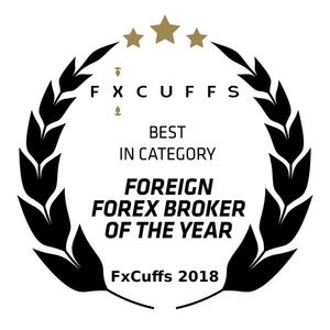 Forex-Broker des Jahres 2018 - FxCuffs Award für Admiral Markets