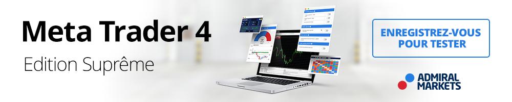 MetaTrader 4 - plateforme de trading professionnelle