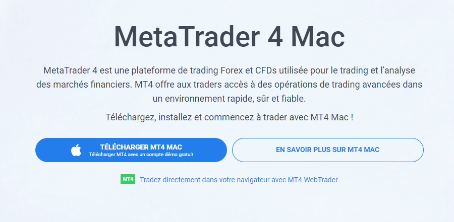 metatrader 4 mac os x download