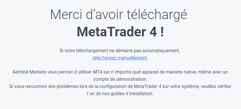 Télécharger MetaTrader 4 Macbook Pro