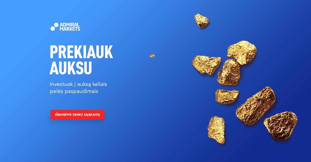 prekyba auksu