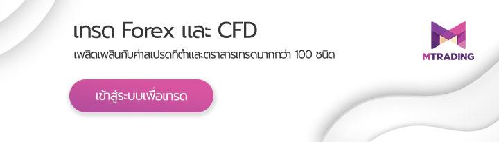เปิดบัญชีจริง เพื่อเทรด Forex และ CFD