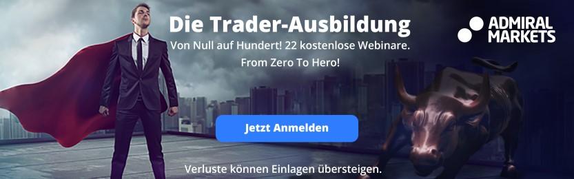 Die Trader Ausbildung 2016: Von Null auf Hundert! In 22 kostenlosen Webinaren