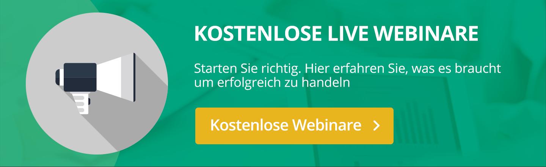 Die besten deutschen Trader: screening der Märkte und vieles weitere in unseren kostenlosen Webinaren!