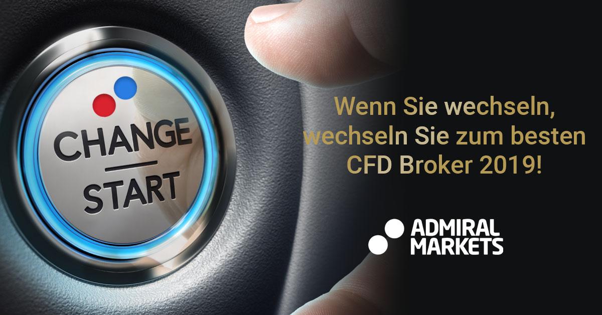 Wechseln Sie zum CFD Broker des Jahres 2019