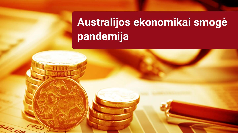 Australijos ekonomika traukiasi, nutraukdama trijų dešimtmečių plėtrą - DELFI Verslas