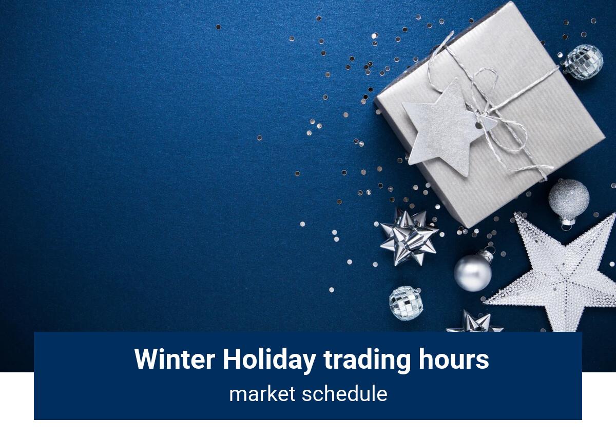Holiday Market Hours | blogger.com
