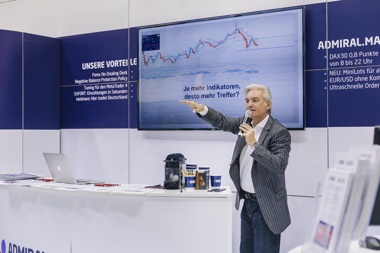 Jochen Schmidt auf der WoT Tradingmesse