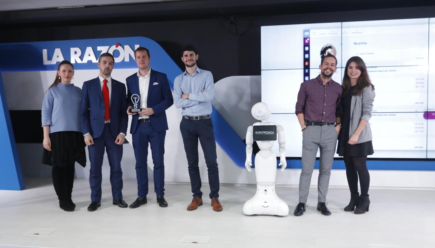 Admiral Markets Испания с приз от наградите La Razon за иновации и технологии