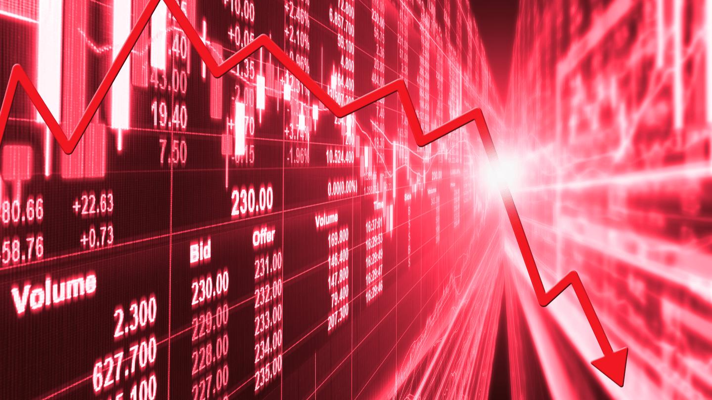 Apple stock price crashes 40%