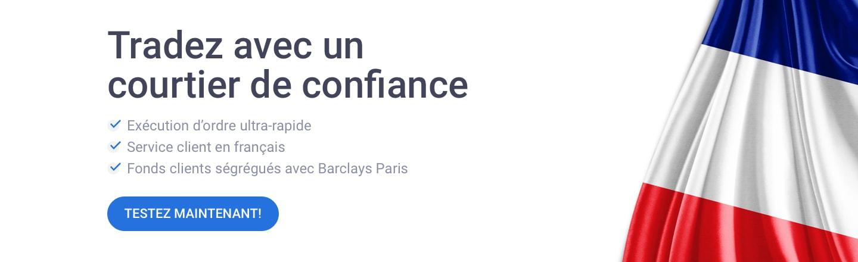 trader avec un courtier français régulé