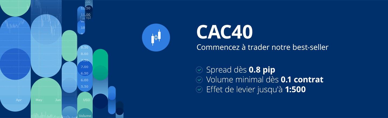 simulation boursière CAC 40
