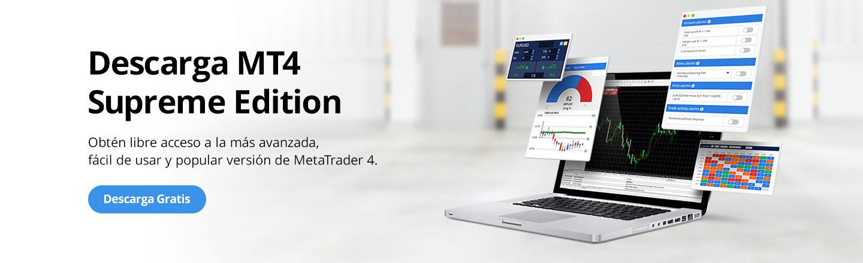Opera con MetaTrader Supreme Edition