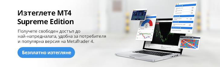 Инсталирайте безплатно платфорамат MT4 и MT5 Supreme Edition