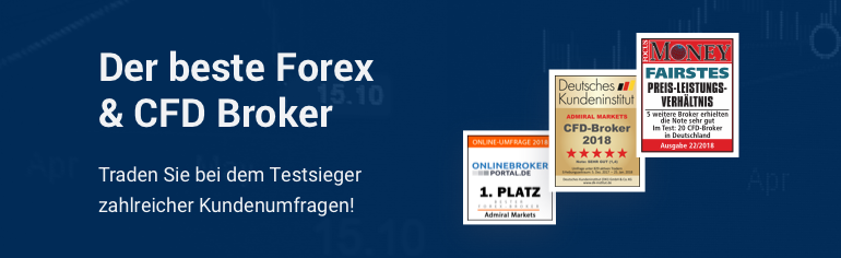 Traden Sie Forex & CFDs beim Testsieger zahlreicher Kundenumfragen!
