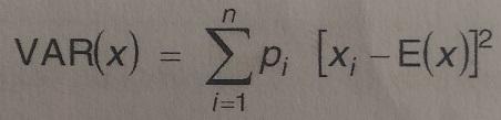 deviation standard formule