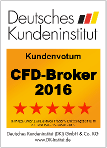 Bester CFD Broker 2016 laut DKI - Admiral Markets UK