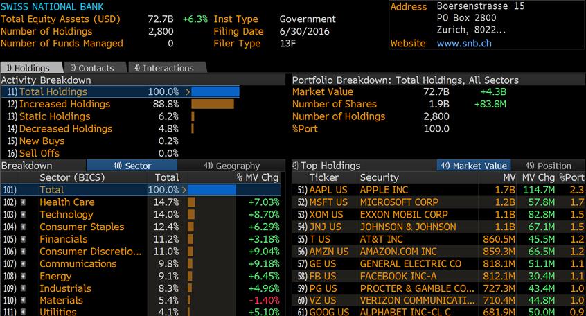Inwestycje SNB