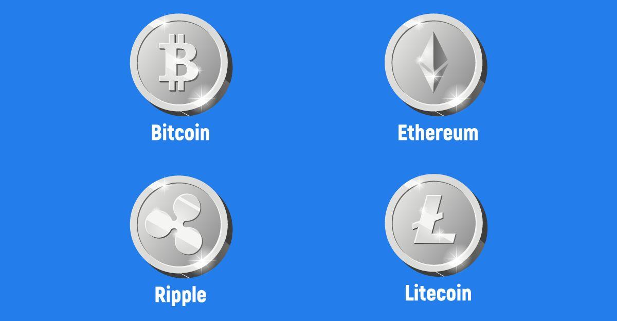 криптовалути, биткойн, етериум, лайткойн