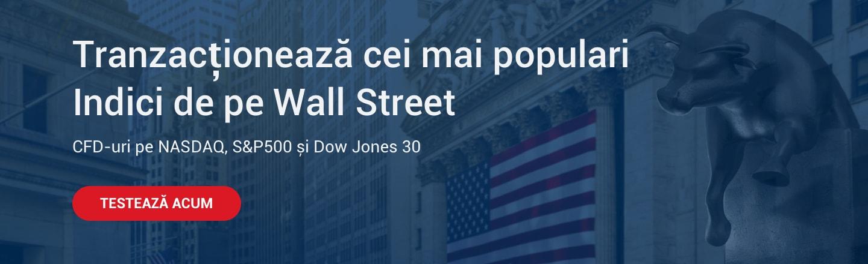 tranzactionare indici bursieri americani