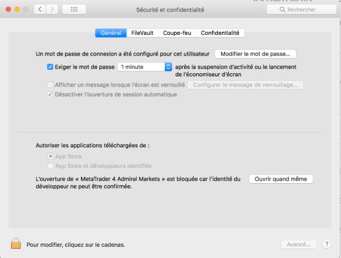 instalare meta trader 4 mac