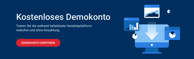 Testen Sie alle Trading Indikatoren des MetaTraders in unserem kostenlosen Demokonto!