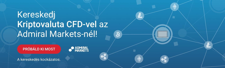 Kereskedj kriptovaluta CFD-vel az Admiral Markets-nél