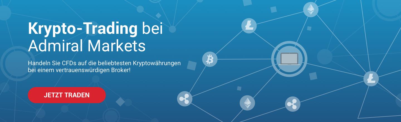 Handeln Sie bei Admiral Markets CFDs auf Kryptowährungen wie Bitcoin und andere!
