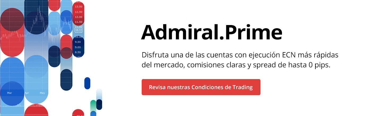 Cuenta Real de Forex Admiral Prime