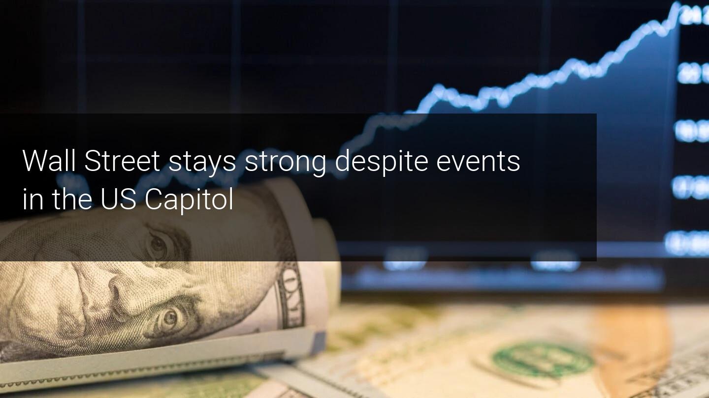 Wall Street maintains the bullish pulse despite the assault on the Capitol